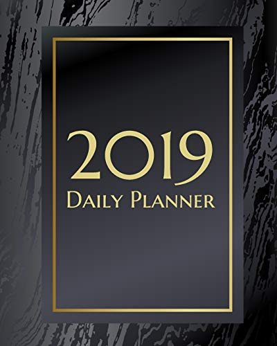 2019 Daily Planner: An elegant black and gold marbled texture makes this weekly calendar a great addition to any business or student life. (Elegant Black Planner, Band 2) (Farbe Kid Kostüm)