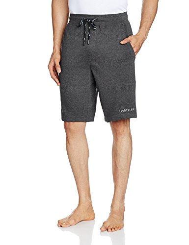 Van Heusen Men Cotton Shorts (8907522408982_50001_Medium_Charcoal)