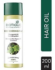 Biotique Bio Bhringraj FreshGrowth Therapeutic Oil, 200ml