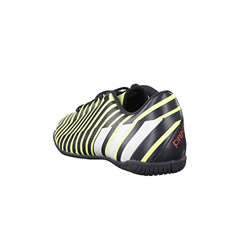 adidas Predito Instinct Indoor, Scarpe da calcetto uomo Nero - light flash yellow s15/ftwr white/dark grey