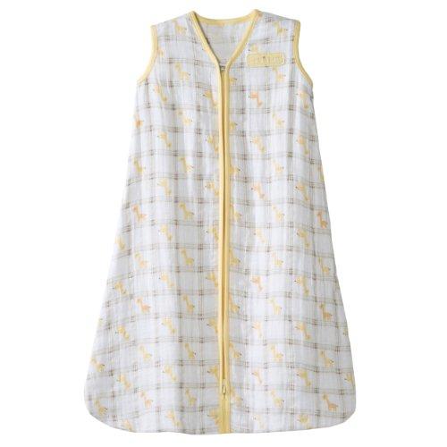 Halo-Schlafsack-Baby-Wohnmantel kaufen -100-Baumwolle-muslin-medium-612-months-yellow-Giraffe