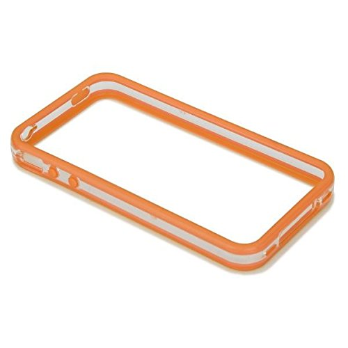 Case-Mate Hula Contour de protection avec 2 films protecteurs avant et arrière pour iPhone 4 Rouge Orange