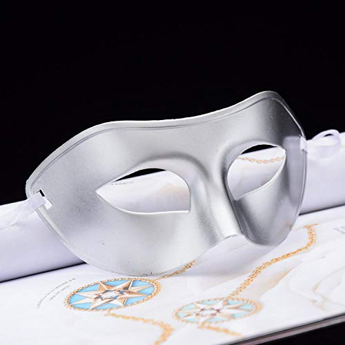 ZHOUHAOJIE Prom Mask_Halloween Make-Up Neue Spitzenmaske Perle Feder Rote Maske Halbes Gesicht Prinzessin Maske Augenmaske (Halbe-gesicht Halloween-make-up Einfach)