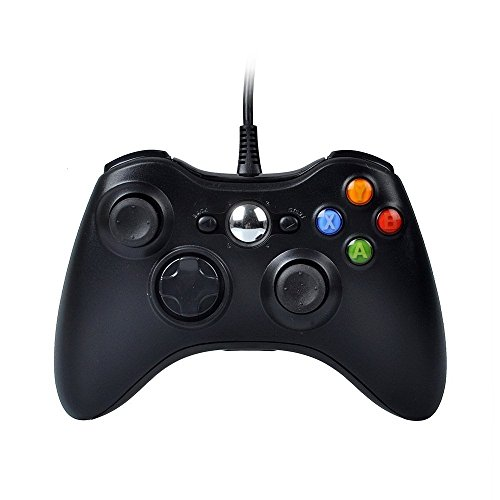Xbox 360 Controller, Stoga Kabelgebundene USB Gamepad Controller für MICROSOFT Xbox 360 PC Windows7 XP-schwarz Xbox 360 Controller Game-Controller Xbox 360-controller Controller für 360 Xbox 360-Konsole 360 gampad Xbox 360-controller Xbox 360 wired xbox 360 wired controller xbox 360 wired controller pc xbox 360 wired controller for windows xbox 360 wired gamepad xbox 360 wired controller gehäuse (Xbox360-pc-controller)