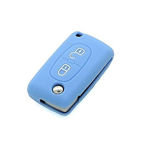 E-Senior Art- und Weisesilikon-Fernschlüsselabdeckung/Silikon Auto Key Cover, Halter | Schlüsselhülle,