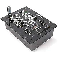 VONYX STM-2300 - Mezclador de 2 Canales USB/MP3
