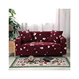 WUFANGFF Slipcover Blumenmuster Sofatuch Schonbezug Couch Covers Sofa Furniture Protector, 3Seat