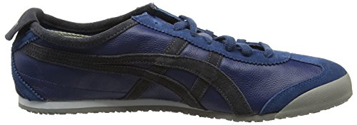 Asics Mexico 66 Vin - Sneakers basses mixte adulte Bleu (Poseidon/Dark Grey)