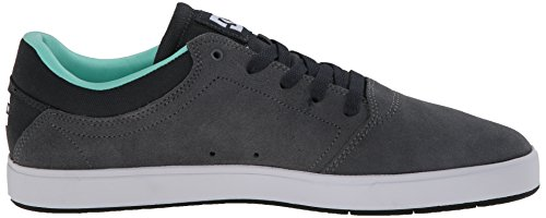 DC Shoes Crisis, Baskets mode homme Grey/Grey/Black
