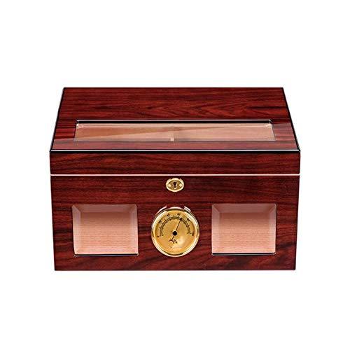 Cigar Box, Cedro natural Cigar Humidor Travel Cigarro