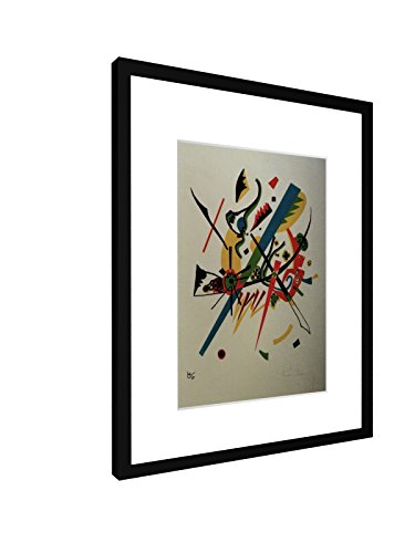 Wassily Kandinsky - Kleine Welten I - 30x40 cm - Bild mit Rahmen / Gerahmtes Poster - Kunstdruck -...