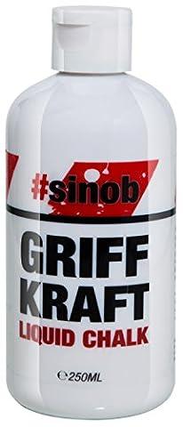 BlackLine 2.0 Griff Kraft Liquid Chalk Flüssigkreide Magnesiumcarbonat Gripp-Enhancer Hände Bleiben Trocken Perfekter Halt (250ml)