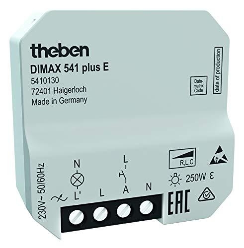 Theben 5410130DIMAX 541Plus S–Up universal de regulador para ESL y lámpara LED...