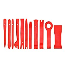 VICSPORT Auto Trim Removal Tool Kit, 11 Pieces Door Panel Plastic Removal Tools for Dash Center Console Installation and Remover