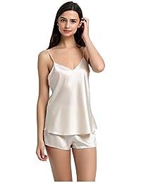 Jasmine Silk Pure Silk Camisole Chemise Top Vest Nude