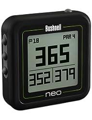 aufgearbeitet Bushnell Neo Ghost Gürtelclip Golfplatz GPS System keine Gebühren Ever Schwarz