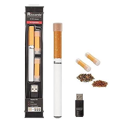 Riccardo® R150 - Starterset - e Zigarette mit 0,0 mg Nikotin von Riccardo