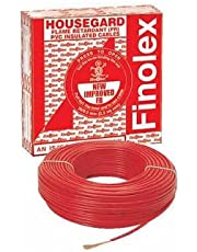 Finolex 2.5 mm Fr House PVC Wire (90 m, Red)