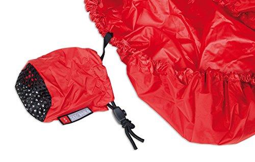 Tatonka Rain Flap Impermeabile per zaino L Rosso