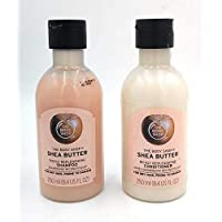 The Body Shop Shea Butter Shampoo and conditioner season special gift set (combo of 2)
