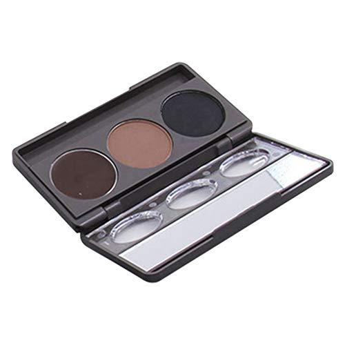 Polvo cosmético maquillaje ojos resistente agua 3