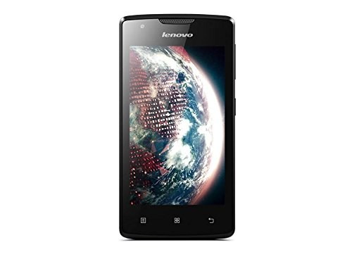 Lenovo A 1000, Smartphone Dual SIM, 64 x 10.6 x 124.5 mm, Android 5.0 Lollipop, 1 GB RAM, nero.