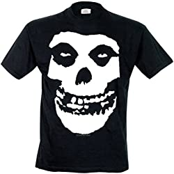 Collectors Mine - Camiseta con cuello redondo de manga corta para hombre, color negro, talla Large