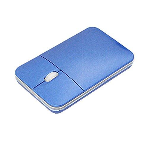 DealMux Super Slim 3D-Laptop PC USB Optical Wheel Mouse Blau -