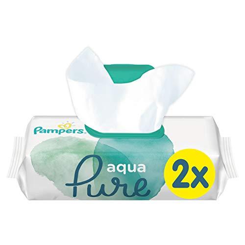 Pampers Aqua Pure Feuchttücher, 96Tücher, 48 Stück