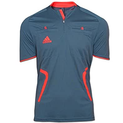 Adidas maillot d'arbitre sS gris taille s