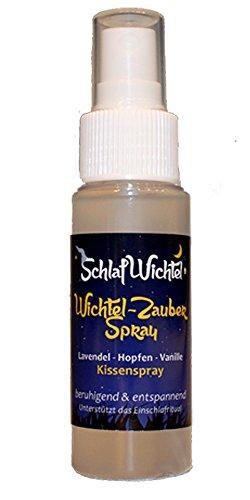 Schlafwichtel Wichtel Zauber Spray - Kissenspray 50ml Lavendel Hopfen Vanille