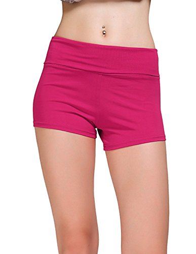 diamondkit courte Active Short stretch Yoga Mini Short pour femme - H Pink