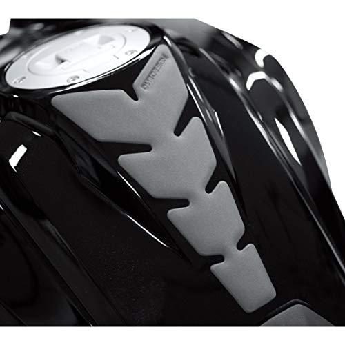 Print Motorrad-Tankpad Tankpad Anniversary Lederlook grau