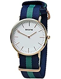 Skone 6165-man-4 Analog White Dial Denim Strap Wrist Watch / Casual Watch - For Men's