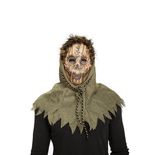 viving Kostüme viving costumes204573terrorific Vogelscheuche Maske (One (Vogelscheuche Kostüme Kid)