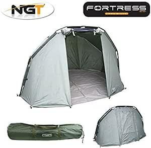 2 Man Fortress 3 Rib Bivvy NGT Carp Fishing Waterproof Large Bivvy Light