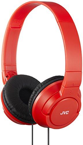 JVC HA-S180-RN-E Rojo Circumaural Diadema Auricular