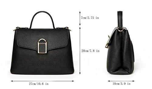 Dame Fashion PU Tragbares Litchi Pattern Fall Schulter Diagonal Paket GrassGreen