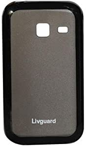 TOS Livguard Back Cover Black For Samsung Galaxy Y Duos