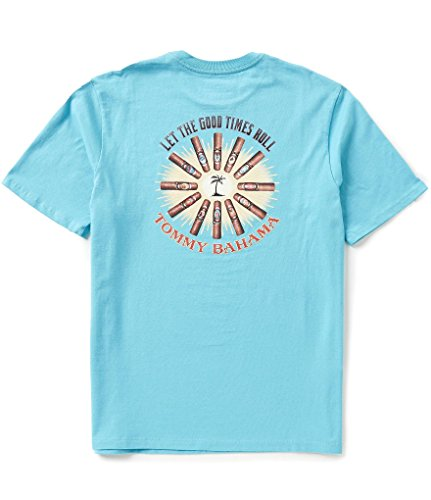 Tommy Bahama Let The Good Times Roll Small Maui Blue T Shirt