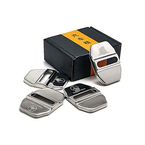 Preisvergleich Produktbild Auto Styling für W213 W204 W205 CLA GLA GLE GLC GLS C E Klasse Türschloss Schnalle Aufkleber Abdeckung Fall Zubehör