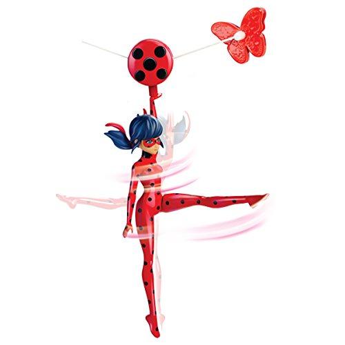 Kostüm Tyrolien - Bandai- Miraculous Ladybug- Funktionsfigur 19cm- Ladybug mit Seilrutsche- 39733