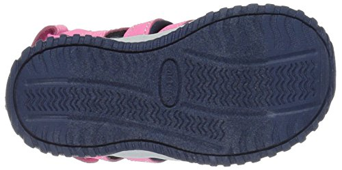 Carter's Christo Synthétique Sandale de Sport Pink-Navy