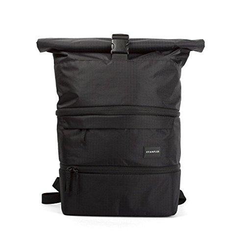 Crumpler The Pearler TPEBP-001 Kamera-Rucksack mit herausnehmbarem Kamera-Einsatz schwarz