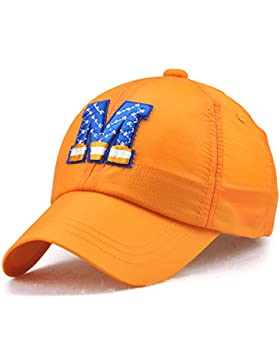 Roffatide Ricamo Berretto da Baseball per Bambini Cappello da Sole per  Ragazze Bambine Ragazzi Regolabile Estate d03de748fdf0