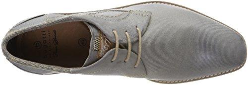 Bugatti 311254013000, Derby - Zapatos De Hombre, Azul (azul Claro)