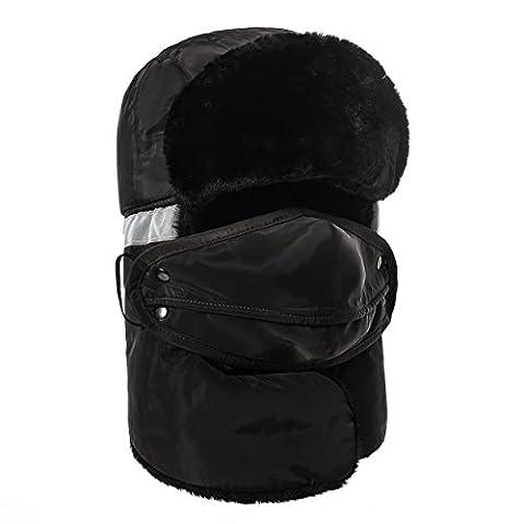 Warm Unisex Winter Trapper Trooper Hat, Allezola 2016 New Style