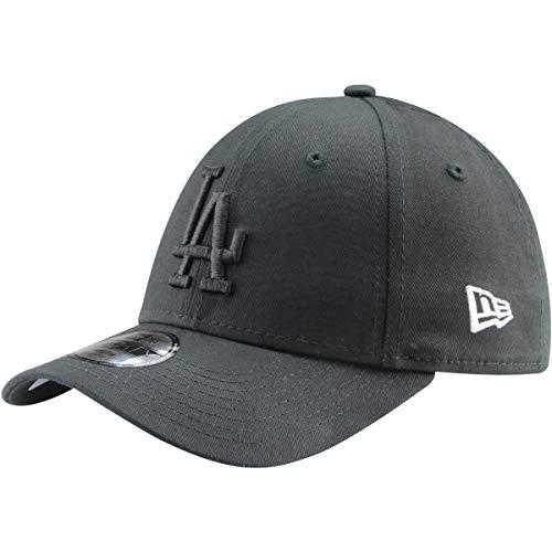 New Era Kinder Jungen Baseball Cap Mütze Strapback MLB Basic Los Angeles Dodgers 9Forty Adjustable Unisex YTH Schwarz (Kinder-baseball-mützen Jungen)