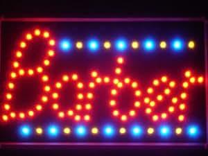 LAMPE NEON ENSEIGNE LUMINEUSE LED led014-r Barber Shop LED Neon Business Light Sign