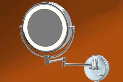 LOYWE LED Beleuchtet wunderschöne Kosmetikspiegel 1+10F Lichtstaerke verstellbar hochwertig LW37 von Ceibgmbh auf Spiegel Online Shop
